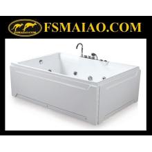 Современный дизайн двух мест акриловая массажная ванна (BA-8706)