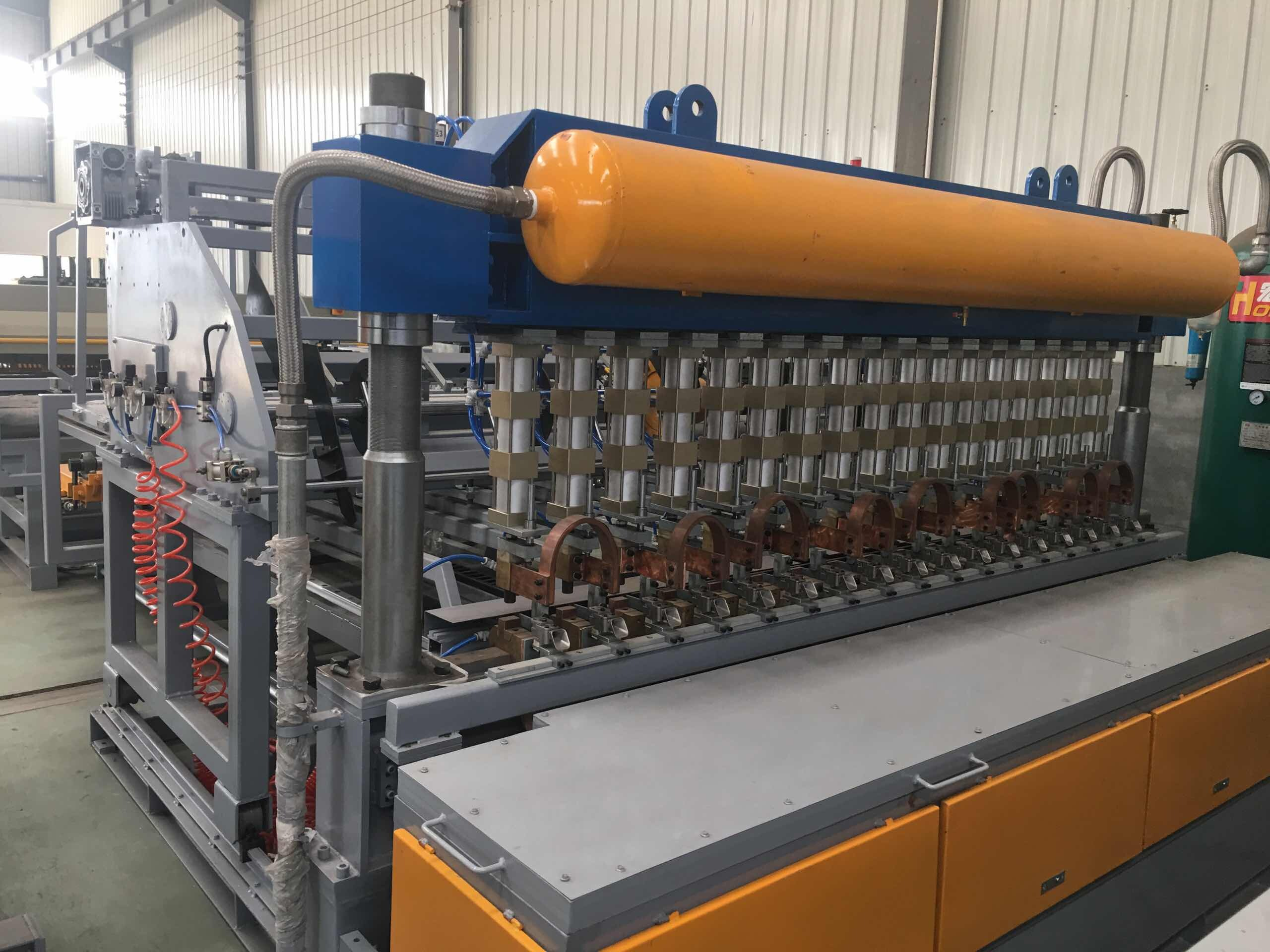 Concrete Reinforcing Welded Wire Mesh Machine