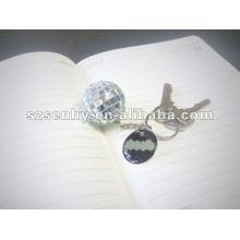 4 зеркало брелок дискотечный шар см