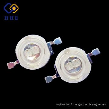 puissance élevée de double de la puce 5w 420nm d'intense luminosité de promotion menée pour des lumières de croissance