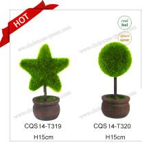 10-18cm Decoración De Boda De Plástico Árbol De Flor De Cerezo Artificial