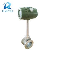 la calibración del medidor de flujo vortex