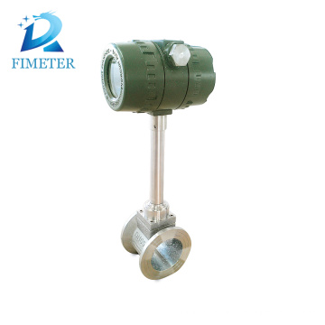 pulse output flange type vortex steam flow meter