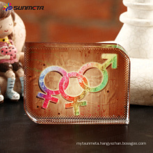 sublimation crystal photo BXP12 Smooth Angle Squares 60*80*20 mm