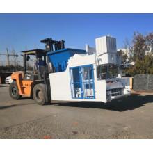 QMJ-12A movable block making machine egg layer machinery pallet free