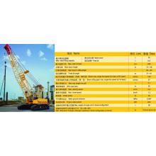 Guindaste de esteira rolante hidráulico Quy75 de 75 toneladas de XCMG