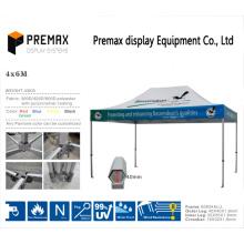 Outdoor de alta calidad portátil plegable 4X6m Gazebo / tienda de campaña de poliéster