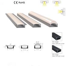 customized aluminum trimless LED track linear light profile