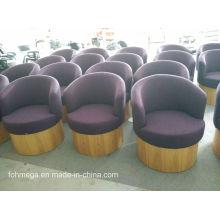 Tecido Coffee Shop Lounge Chair para venda Foh-LC08