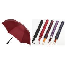 Auto Open Arten von Golf Umbrella (JY-322)