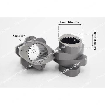 Винт и бочка для параллельного двухшнекового оборудования