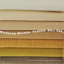 Home Textile Imitation Leinen Polyester Stoff