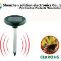 Control de plagas al aire libre Uso de jardín Cazador de roedores ultrasonido, Repulsivo Solar Mole