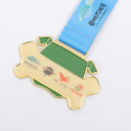 Projeto de medalha artesanal decorativo presente promocional