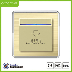 Smart Hotel Power Card Switch