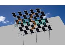 Photovoltaic Solar Farm Ground Solar Panel Mounting System