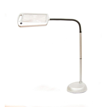 Full Page 3X Dermatology Magnifier Led Reading Lamp