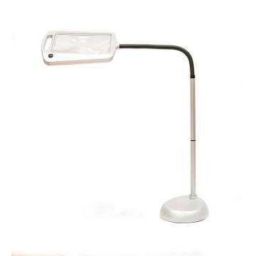 Светодиодная лампа для чтения с 3-кратной лупой для дерматологии на всю страницу