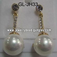 women earrings shell pearl