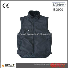 300d Oxford Mens Sleeveless Winter Quilted Waistcoat