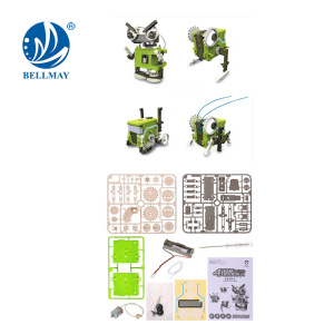 Wholesales High Quality and Enducational DIY 4 IN 1 DIY ROBOT For Sales
