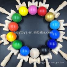 Venta al por mayor oferta especial de alta calidad de madera barata kendama juguete