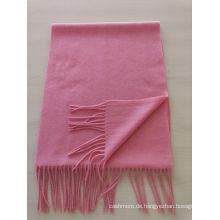 Mischung 50% Kaschmir 50% Wolle Mittelschwerer roter Schal