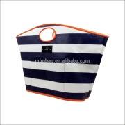 custom beach tote bag fashion colorful printing laminated PP woven sand beach bag