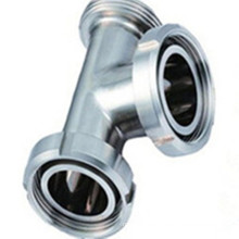 Sanitary Stainless Steel Threaded Tee