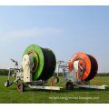 middle area hose reel irrigation with high efficiency