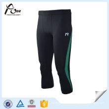 Calças de compressão de calça de malha de joelho de desgaste de ginásio