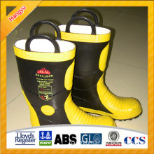 Comfortable Fire Safety Boots Anti Acid and Alkali Function