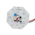 Module plafonnier LED 5W lumière blanche chaude