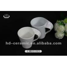 Tazas de café promocionales de porcelana