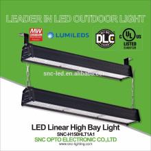 DLC enlistado 150 vatios LED pasillo encendedor alta bahía