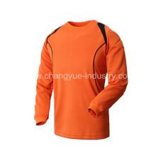 Летом новый дизайн футбол Джерси с длинными рукавами для вратаря