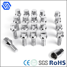 Stainless Steel Polisher Customized Anti Theft Wheel Bolt with Wrench