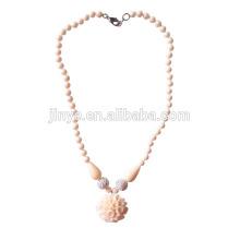 Boho Chic österreichischen Kristall Stein Blume Halskette