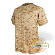 Camiseta militar con algodón / poliéster de calidad superior