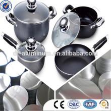 Henan Aluminium Circle Fornecedor para panelas
