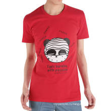 Смешно Горящими Глазами Напечатанный Оптовой Изготовленный На Заказ Хлопок Мода Мужчины Лето T Рубашка