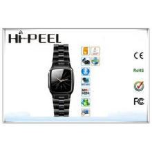 Smart Stainless Steel GSM Wrist Watch Phone Support E-book