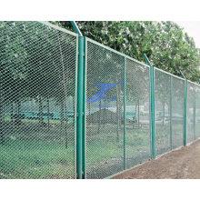 Erweiterter Maschendraht-Park-Zaun