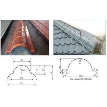 Máquina formadora de rolo de telha de telhado de metal
