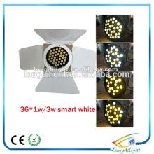 Китай Гуанчжоу 36 * 3 Вт теплый белый + холодный белый / rgb Led пар 64 С barndoor пар этап освещения цена