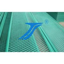 Panneau en aluminium augmenté de maille de couleur verte pour la décoration