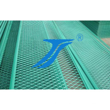 Green Color Expanded Aluminum Mesh Panel for Decoration