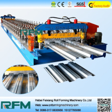 FX steel floor decker tiles roll forming making line