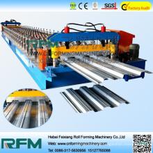 FX steel floor decker tiles roll forming making line