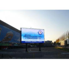 HD Digital Outdoor LED Signage Boards PH20 Static Constant